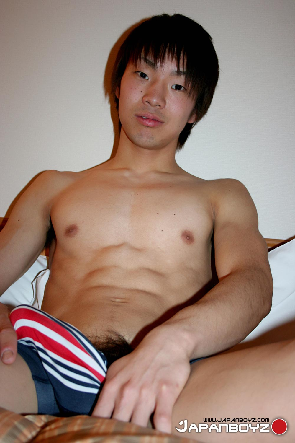 JapanBoyz-Satoshi-Bisexual-Jock-Jerking-Big-Thick-Uncut-Asian-Cock-04 Japanese Bisexual Twink Jock Jerks His Thick Uncut Hairy Asian Cock