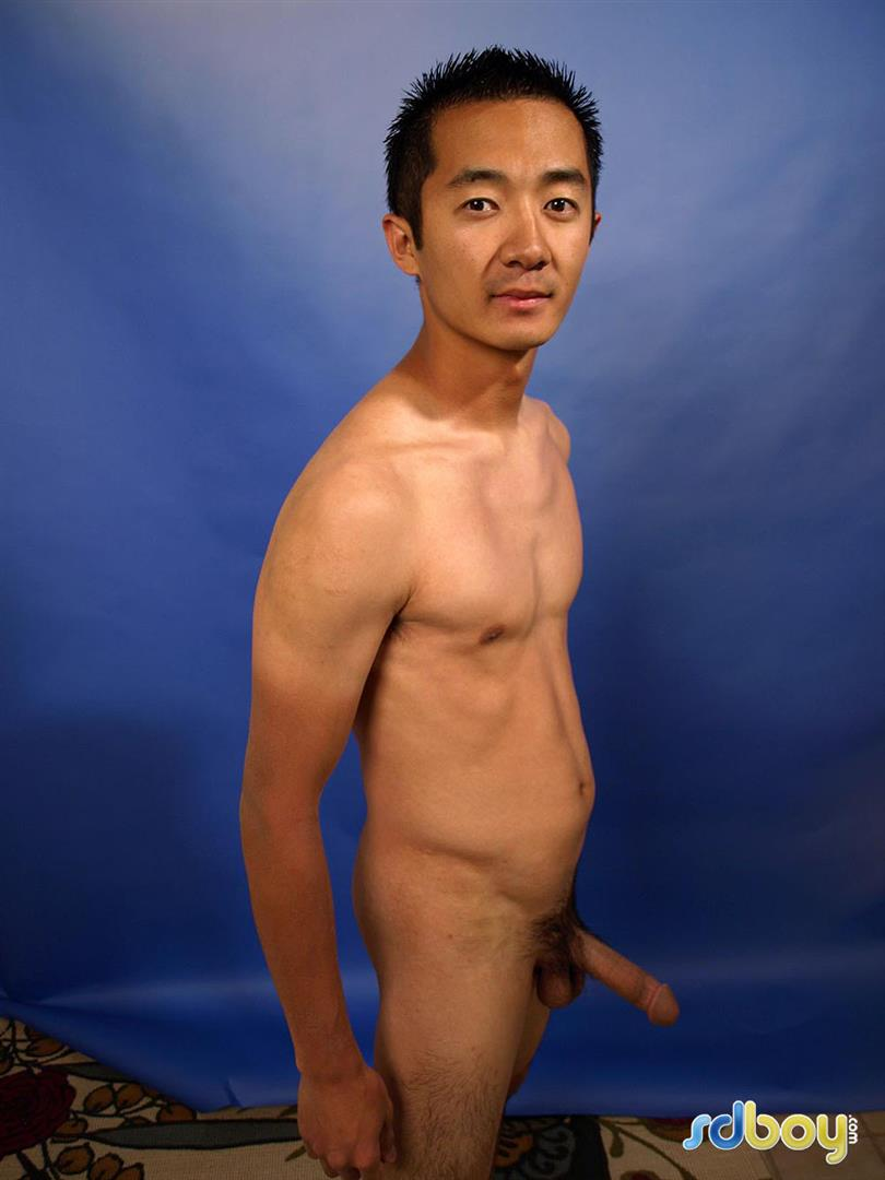 SDBoy-Mitsuo-Navy-Asian-Guy-With-Big-Cock-Jerking-Off-Amateur-Gay-Porn-19 Straight US Navy Officer Jerks His Big Thick Asian Cock