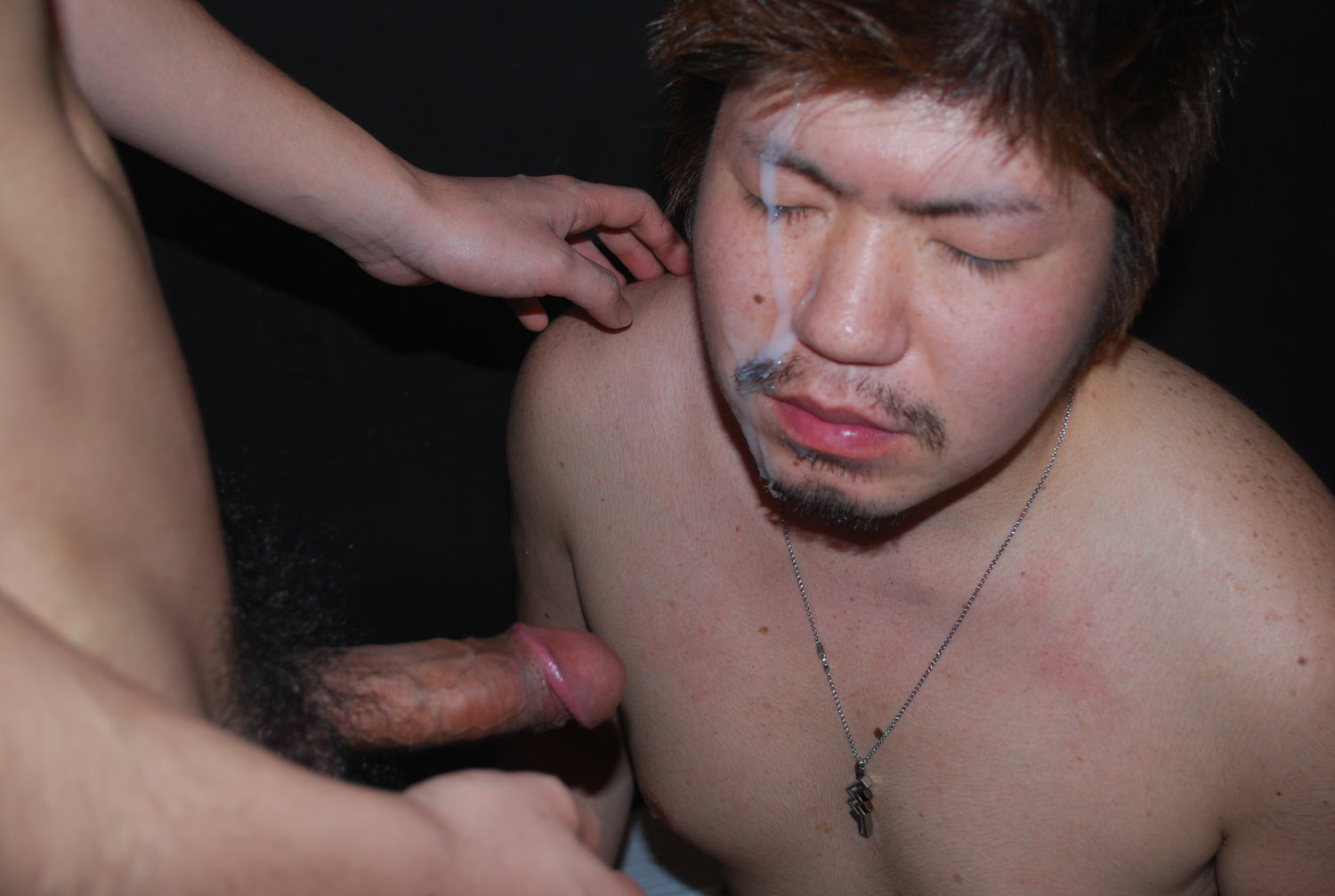 JapanBoyz-Keisuke-and-Shinji-Big-Cock-Asian-Guys-Give-Each-Other-Cum-Facial-Amateur-Gay-Porn-13 Big Cock Asian Boys Give Each Other HUGE Cum Facials