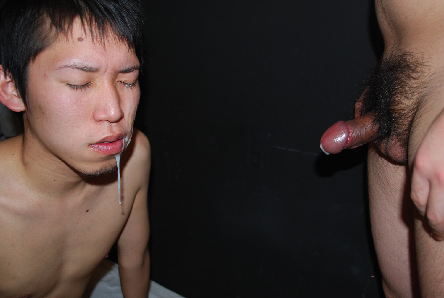 JapanBoyz Keisuke and Shinji Big Cock Asian Guys Give Each Other Cum Facial Amateur Gay Porn 19 Big Cock Asian Boys Give Each Other HUGE Cum Facials