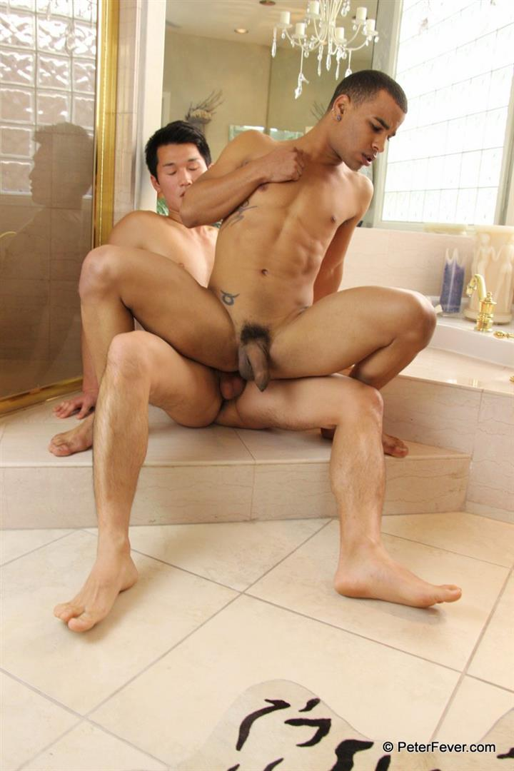 Wash Up 20 Young Horny Asian Fucking His Tight Black Buddy With His Big Asian Cock